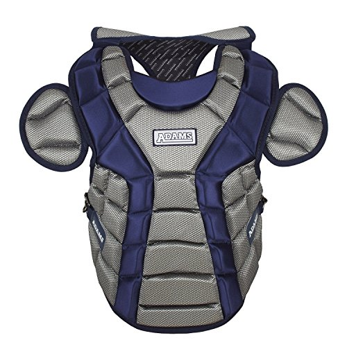 Adams ACP-15 Junior Chest Protector with Detachable Tail (15-Inch, Navy) -