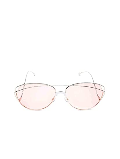 692b4aadeeec Bellofox latest Glasgow Sunnies sunglasses Silver color Metal Oval stylish  for women & girls: Amazon.in: Clothing & Accessories