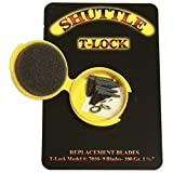 Trophy Taker 100 gr Black Shuttle T-Lock Replacement Blades- 9-Pack