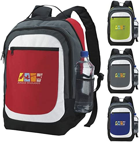 Atchison Kaleido Backpack Red 500 Pack