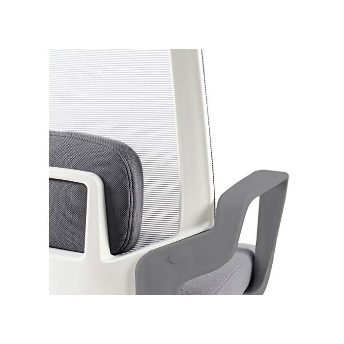 51MWejh17DL Respaldo ergonómico y cojín incluido Pistón de gas que permite regular la altura del asiento Fácil y sencillo montaje