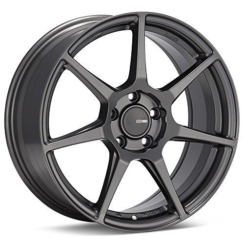 18x9.5 Enkei TFR Gunmetal Wheel/Rim Bolt Pattern(5x100) Offset (45) Hub Bore(72.6) Part Number(516-895-8045GM)