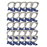 Cable Clamp Sea Clamp Medium Blue Cable Management Organization