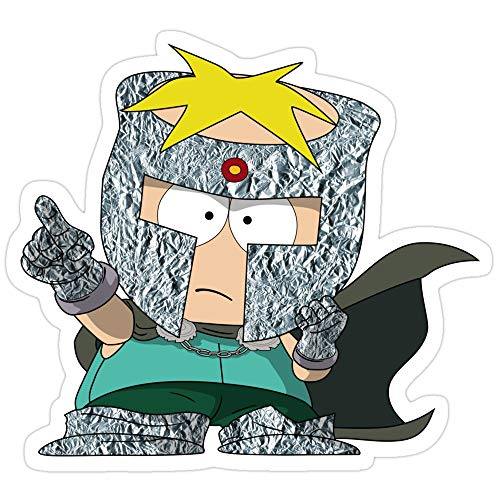 Jess-Sha Store 3 PCs Stickers Professor Chaos, South Park Sticker for Laptop, Phone, Cars, Vinyl Funny Stickers Decal for Laptops, Guitar, Fridge