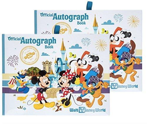 (Walt Disney World Four Parks Official Autograph Book - Set of 2 Books)