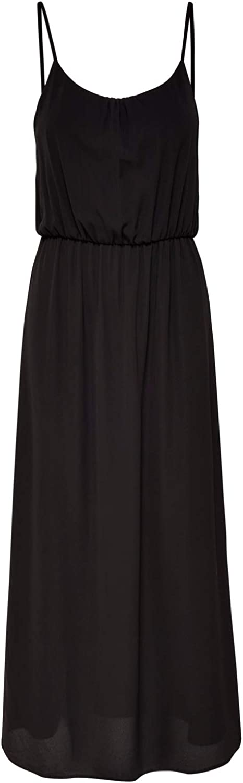 ONLY Damen Onlnova Life S//L Maxi Dress Solid WVN Kleid
