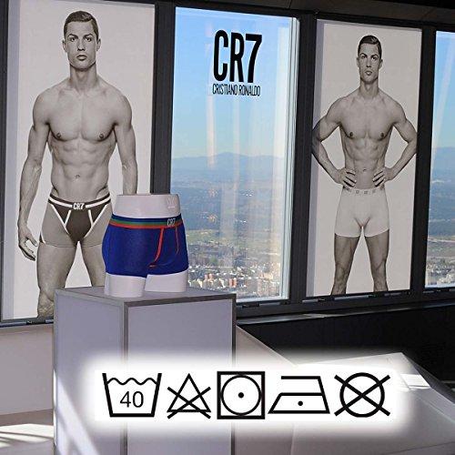 CR7 Cristiano Ronaldo - Boxer 3 Pack, Uomo, bianco (White), 2XL