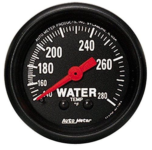 Auto Meter 2606 Z-Series Mechanical Water Temperature Gauge (Series Temperature Gauge Water)