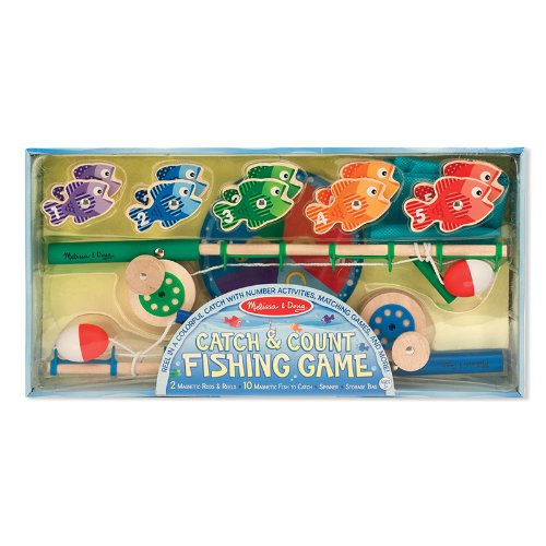 catch wooden fishing game