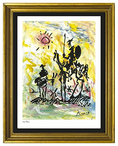 Pablo Picasso Signed & Hand-Numbered Limited Edition Lithograph Print,