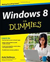 Windows 8 For Dummies Front Cover