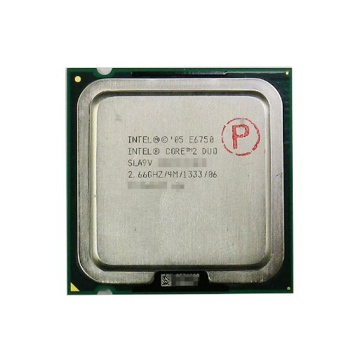 intel core 2 duo e6750 - 7