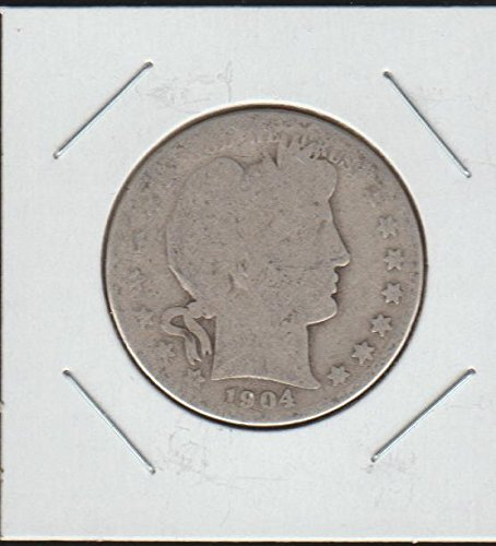 1904 S Barber or Liberty Head (1892-1915) Half Dollar About Good