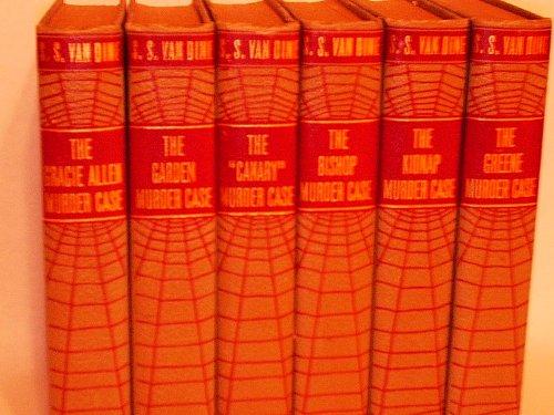 Philo Vance Murder Series (5 Volume Set) the Gracie Allen Murder Case, the Garden Murder Case, the