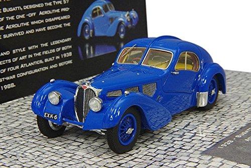 1/43 ブガッティ タイプ 57SC アトランティック 1938(ブルー) 437110325