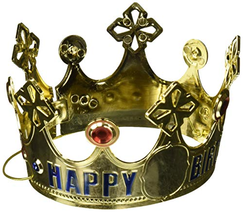 - Customized Happy Birthday Crown | Royalty Collection