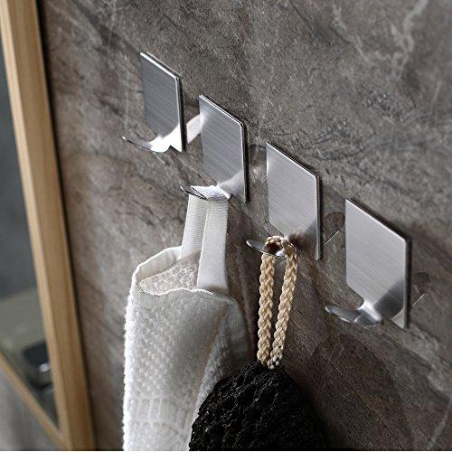 adhesive-hooks-wall-hooks-heavy-duty-wall-hangers-stainless-steel-waterproof-hooks-for-robe-coat-towel-keys-bags-lights-calendars-home-kitchen-bathroom-4-pack