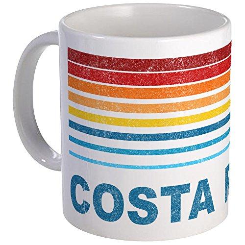 CafePress Retro Costa Rica Palm Tree Mug Unique Coffee Mug, Coffee Cup