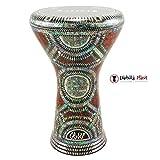 The 17'' Green Crown Gawharet El Fan Darbuka Doumbek