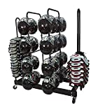 Combo Helmet-Shoulder Pad Rack