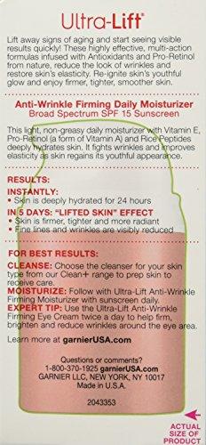 51MWhtTe0wL - Garnier SkinActive Ultra-Lift Anti-Aging Face Moisturizer SPF 15,  1.6 fl. oz.