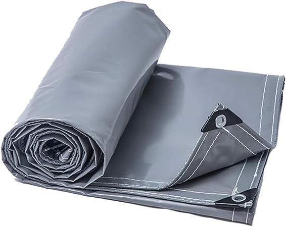 IDWOI Lona - Lona Gris Gruesa Resistente a la Rotura Impermeable Protector Solar Visor Lona Lona - Productos, Jardín, Tela de la Cubierta de la Cortina del Coche (Size : 4.7×9.8m): Amazon.es: Hogar