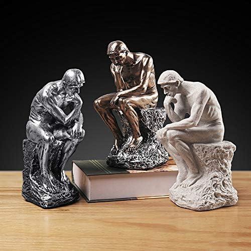 LKXZYX Boda Decoracion Figuras de Grandes Salon candelabros Jardin Exterior,Personajes, esculturas, meditadores, Decoraciones, pensadores creativos: Amazon.es: Hogar