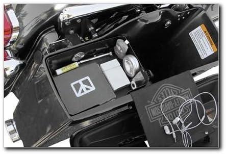 Hardbagger Leather Saddlebag Tray for Harley Davidson