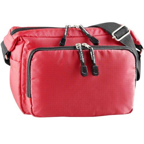 derek-alexander-top-zip-front-organizer-red-one-size