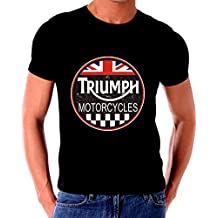 Triumph Motorcycle classic old Vintage Tin Sign T shirt