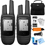 Garmin Rino 700 2 PACK 2-Way Radio + GPS Navigator (010-01958-20) Accessory Bundle