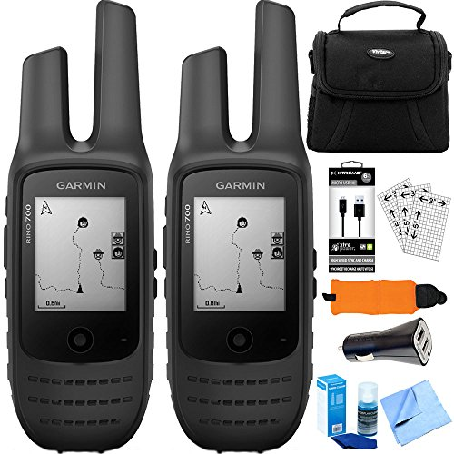 Garmin Rino 700 2 PACK 2-Way Radio + GPS Navigator (010-01958-20) Accessory Bundle Review