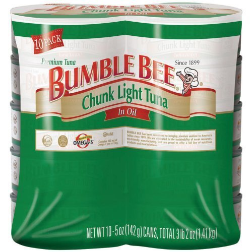 Bumble Bee Chunk Light Tuna In Oil - 10/5 Oz by Bumble Bee [Foods]
