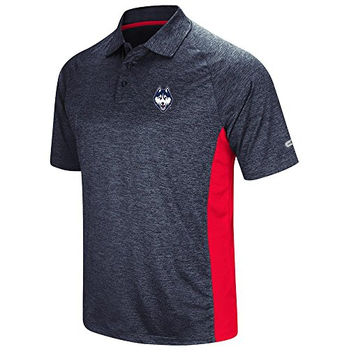 Mens UConn Huskies Polo Shirt - L
