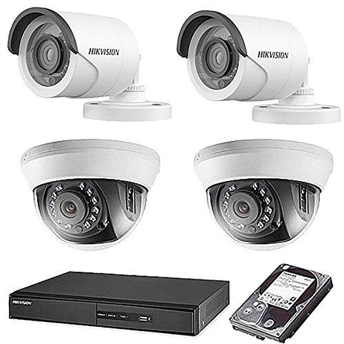 完璧 HIKVISION(ハイクビジョン) 防犯カメラセット 5年保証 監視カメラ 監視カメラ × 4台(243万画素フルハイイビジョン)+2TB HDD 屋外内用 小型 5年保証 TVI-SET6-C4-2TB スマホ対応 録画機能付き 4CH 防犯カメラ セット 9点セット 日本語マニュアル付き 屋外用2台屋内ドーム2台 TVI-SET6-C4-2TB B074Z82G5Q, エコリア:244fb6c8 --- trainersnit-com.access.secure-ssl-servers.info