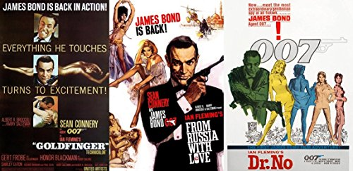 James Bond 7 Film Collection Dr. No DVD Sean Connery Vol. 1 Goldfinger / From Russia With Love & Pierce Brosnan 007 / GoldenEye /Tomorrow Never Dies /The World Is Not Enough /Die Another Day
