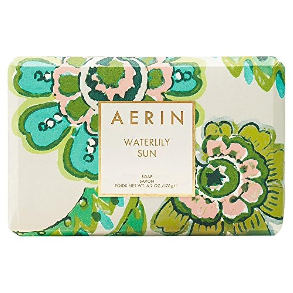 付属品ハミングバードパッドAerinスイレン日石鹸176グラム (AERIN) - AERIN Waterlily Sun Soap 176g [並行輸入品]