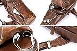 BULLCAPTAIN Genuine Leather Men Bags Shoulder Sling