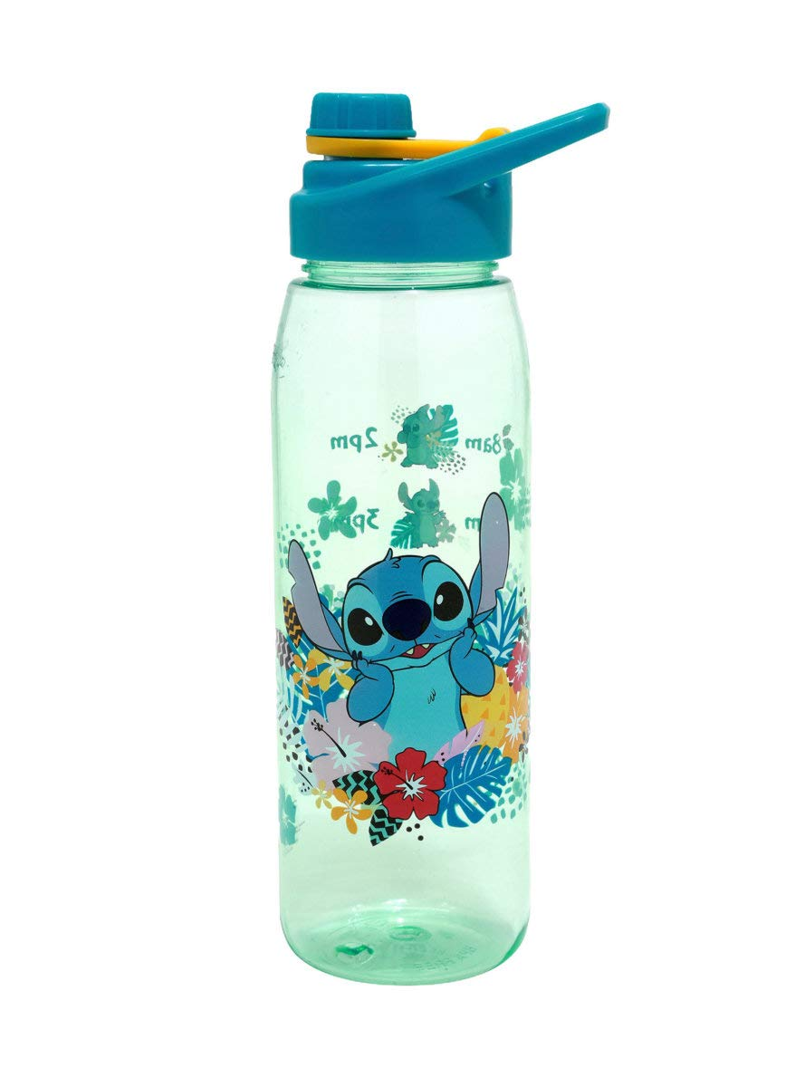 Disney Lilo & Stitch Tropical Schedule Water Bottle