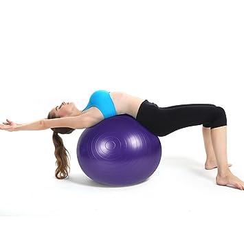 Ejercicio Fuerte Fuerza Fuerza Fuerza Balón de Yoga de Fitness y ...