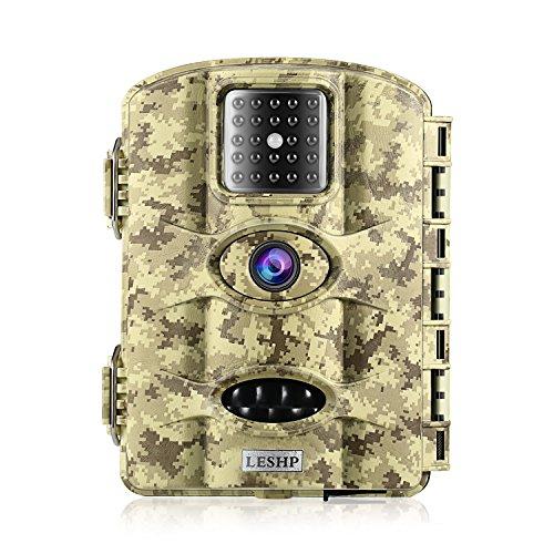 Elepawl Game & Trail Hunting Camera, 12MP 1080P HD No Glow
