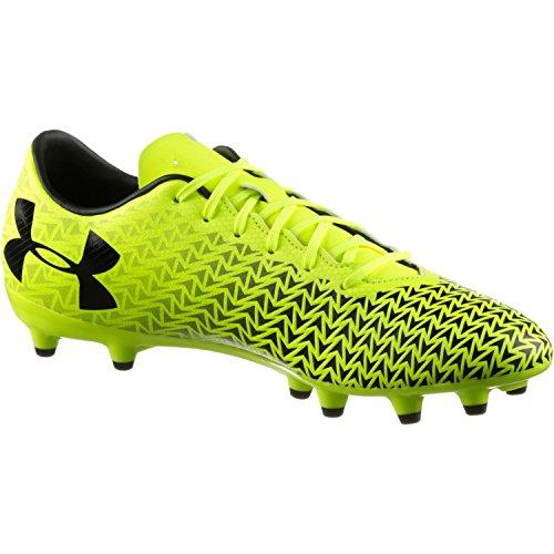 Jaune Chaussures Football FG Homme Armour 0 3 UA vis Under High de Force CF Yellow RPqw0