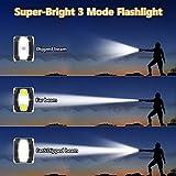[Newest] Emergency Hand Crank Solar Flashlight