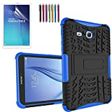 GoldCherry Galaxy Tab E T560 Case, Heavy Duty Rugged Full Body Protective with kick Stand Case for Samsung Galaxy Tab E T560 9.6 inches [SM-T560] (Tab E 9.6