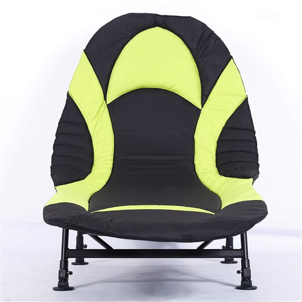 Yocobo lit pliant de camping fauteuil de lit inclinable bedchair carpe fishing camping 6 leg couleur noir taille 190 72 40cm amazon fr cuisine