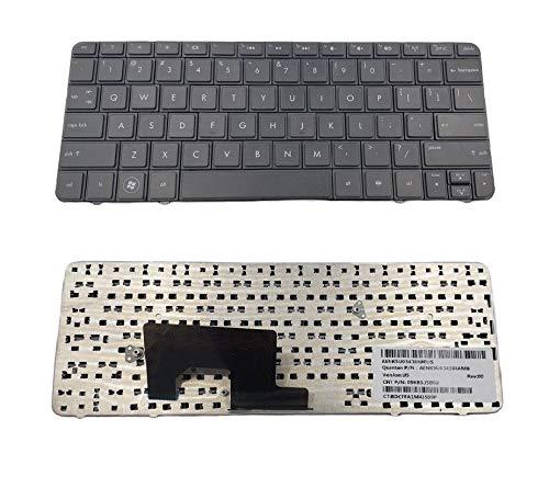 New US Layout Black Keyboard Compatible HP Compaq Mini CQ10-600 CQ10-700 CQ10-800 Series Laptop. Part Number: AENM1U00110 SG-47300-XUA 633476-001