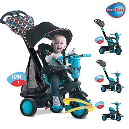 Smart Trike Touch Steering Boutique - Teal by Toys R Us