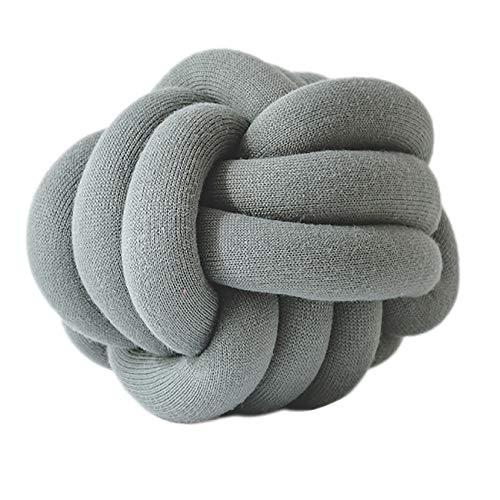 THEE Creative Knot Ball Cushion Sofa Lumbar Pillow Chair Back Cushion Throw Pillow Decoration