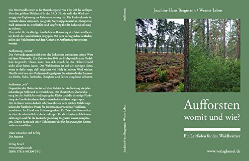 Aufforsten – womit und wie?: Ein Leitfaden für den Waldbesitzer