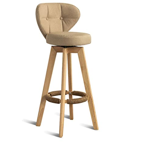 Stupendous Bar Stool Chair Barstools Footrest With Backrest Swivel Seat Beatyapartments Chair Design Images Beatyapartmentscom
